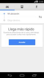 Uso de la navegación GPS - Motorola Moto X (2a Gen) - Passo 12