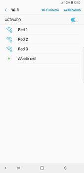 Configura el WiFi - Samsung Galaxy Note 8 - Passo 7