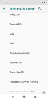 Configura el Internet - Motorola Moto G7 Plus - Passo 13