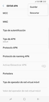 Configura el Internet - Samsung Galaxy S8+ - Passo 16