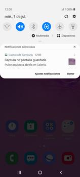 Tomar una captura de pantalla - Samsung Galaxy S10 Lite - Passo 5