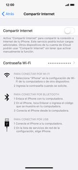 Configura el hotspot móvil - Apple iPhone X - Passo 6