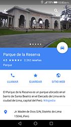 Uso de la navegación GPS - Huawei P10 - Passo 12