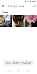 Transferir fotos vía Bluetooth - Motorola Moto E5 Play - Passo 12