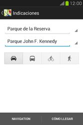 Uso de la navegación GPS - Samsung Galaxy Fame GT - S6810 - Passo 17