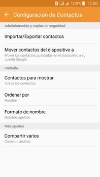 ¿Tu equipo puede copiar contactos a la SIM card? - Samsung Galaxy J7 - J700 - Passo 6