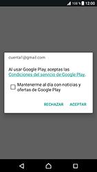 Crea una cuenta - Sony Xperia XZ Premium - Passo 17