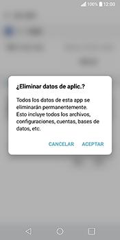 Limpieza de aplicación - LG Q6 - Passo 8