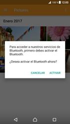 Transferir fotos vía Bluetooth - Sony Xperia XZ Premium - Passo 13
