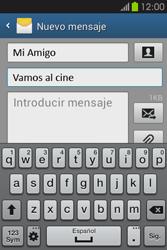 Envía fotos, videos y audio por mensaje de texto - Samsung Galaxy Fame GT - S6810 - Passo 11