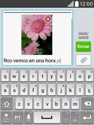 Envía fotos, videos y audio por mensaje de texto - LG L20 - Passo 19