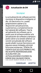 Actualiza el software del equipo - LG K10 - Passo 8