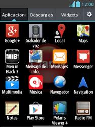 Envía fotos, videos y audio por mensaje de texto - LG Optimus L3 II - Passo 2