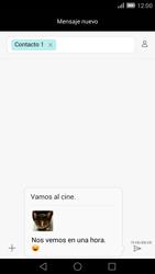Envía fotos, videos y audio por mensaje de texto - Huawei Ascend Mate 7 - Passo 18