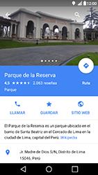 Uso de la navegación GPS - LG X Power - Passo 11