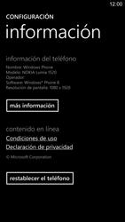 Restaura la configuración de fábrica - Nokia Lumia 1520 - Passo 5