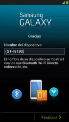 Activa el equipo - Samsung Galaxy S4 Mini - Passo 19