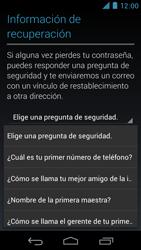 Crea una cuenta - Motorola RAZR D3 XT919 - Passo 12