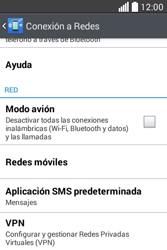Configura el Internet - LG L40 - Passo 5