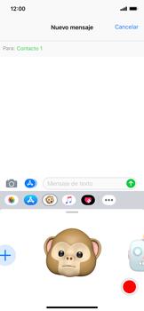 Enviar Animoji - Apple iPhone XS Max - Passo 11