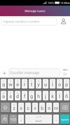 Envía fotos, videos y audio por mensaje de texto - Huawei Y3 II - Passo 3