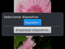 Transferir fotos vía Bluetooth - BlackBerry Bold 9720 - Passo 10
