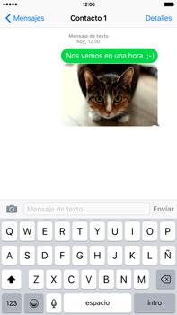 Envía fotos, videos y audio por mensaje de texto - Apple iPhone 6s Plus - Passo 13