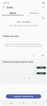 Cómo funciona el Samsung Health - Samsung Galaxy A51 - Passo 19