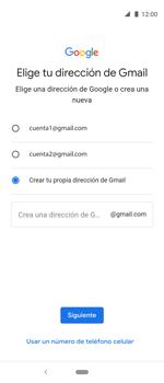 Crea una cuenta - Motorola One Vision (Single SIM) - Passo 10