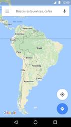Uso de la navegación GPS - Motorola Moto G5 - Passo 7