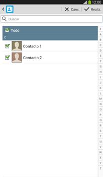 ¿Tu equipo puede copiar contactos a la SIM card? - Samsung Galaxy Tab 3 7.0 - Passo 8
