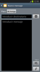 Envía fotos, videos y audio por mensaje de texto - Samsung Galaxy S 3  GT - I9300 - Passo 8