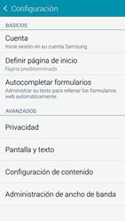 Configura el Internet - Samsung Galaxy S5 - G900F - Passo 21