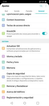 Actualiza el software del equipo - LG G7 ThinQ - Passo 5
