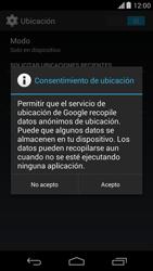 Uso de la navegación GPS - Motorola Moto X (2a Gen) - Passo 9