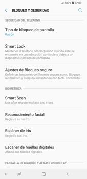 Desbloqueo del equipo por medio del patrón - Samsung Galaxy S9 Plus - Passo 12