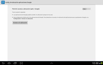 Uso de la navegación GPS - Samsung Galaxy Note 10-1 - N8000 - Passo 5