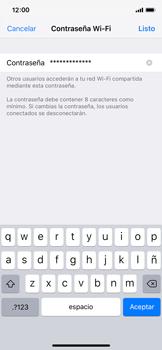 Configura el hotspot móvil - Apple iPhone XS - Passo 5