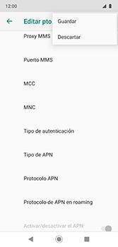 Configura el Internet - Motorola Moto G7 Plus - Passo 17