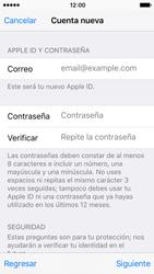 Crea una cuenta - Apple iPhone SE - Passo 11