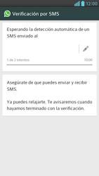 Configuración de Whatsapp - LG Optimus G Pro Lite - Passo 7