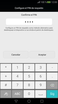 Desbloqueo del equipo por medio del patrón - Huawei Mate S - Passo 13