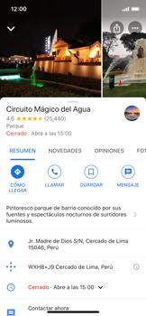 Uso de la navegación GPS - Apple iPhone 11 Pro - Passo 12