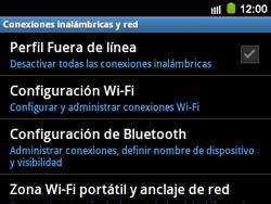 Configura el WiFi - Samsung Galaxy Y Pro GT - B5510 - Passo 5