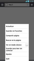 Configura el Internet - LG Optimus G Pro Lite - Passo 21