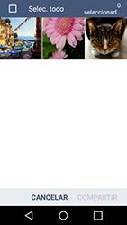 Transferir fotos vía Bluetooth - LG K4 - Passo 7