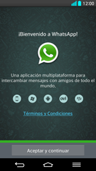 Configuración de Whatsapp - LG G2 - Passo 4