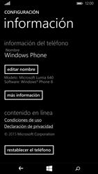 Restaura la configuración de fábrica - Microsoft Lumia 640 - Passo 5