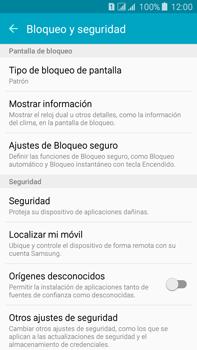 Desbloqueo del equipo por medio del patrón - Samsung Galaxy J7 - J700 - Passo 16