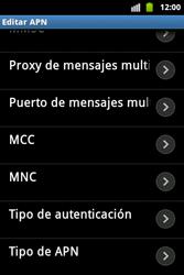 Configura el Internet - Samsung Galaxy Ace  GT - S5830 - Passo 13